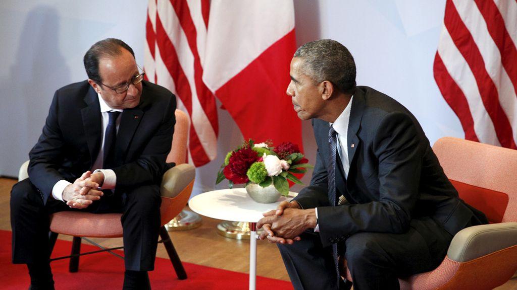 Hollande y Obama