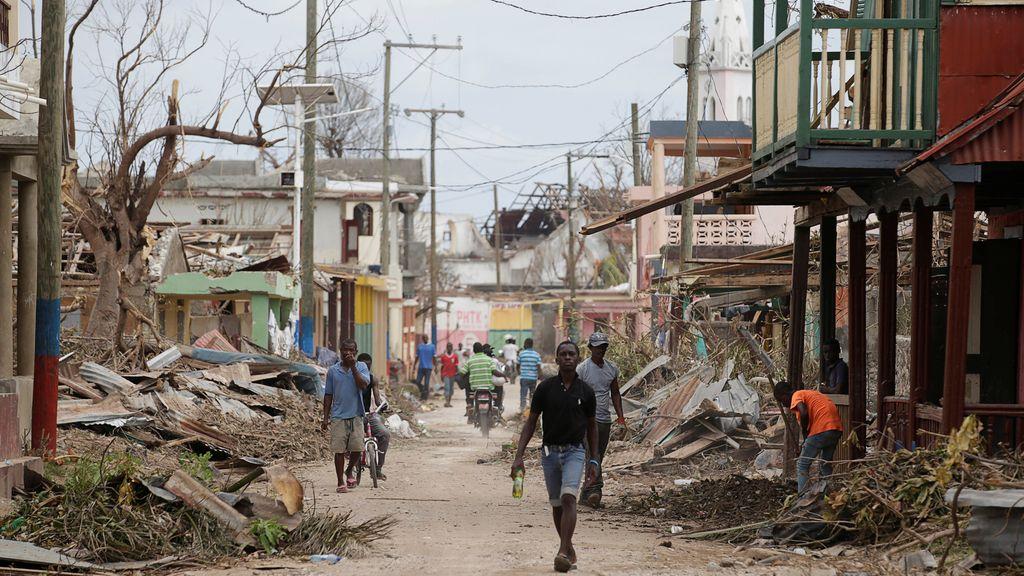 Las secuelas del huracán Matthew en Haití
