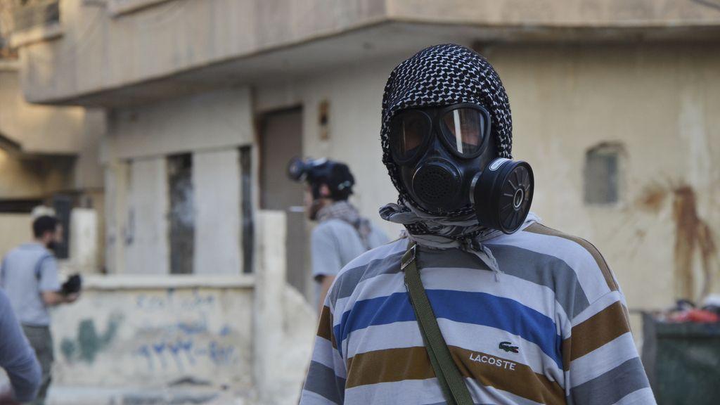 Las armas químicas, muy presentes en la guerra siria