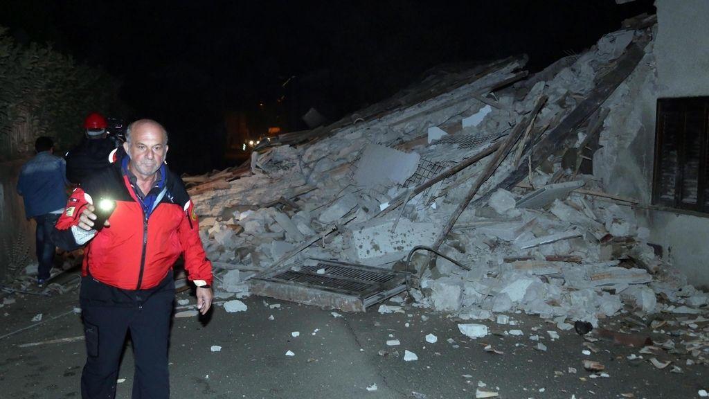 Dos terremotos sacuden el centro de Italia