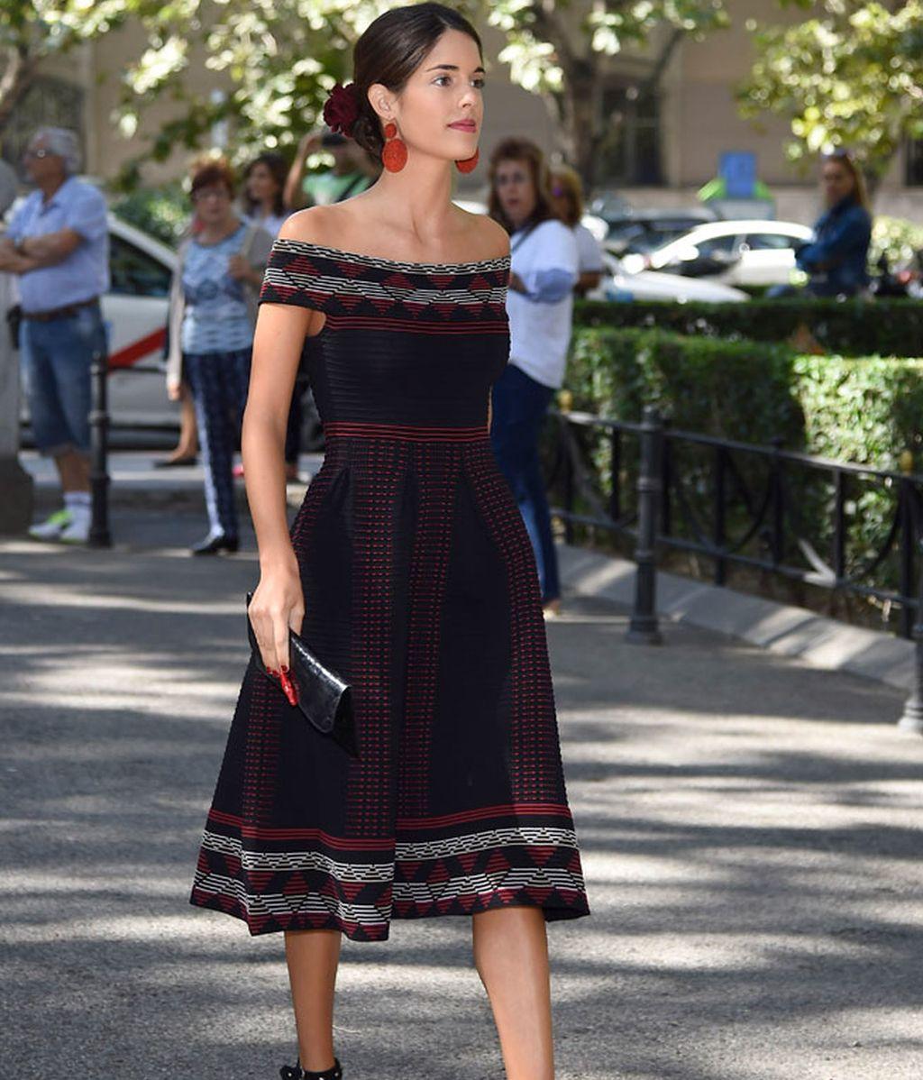 Sofia Palazuelo, muy elegante