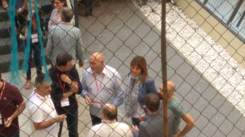 Comité Federal del PSOE en Ferraz