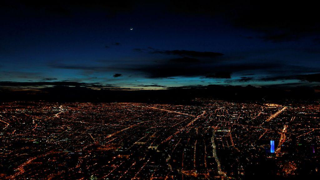Bogotá no duerme por la noche