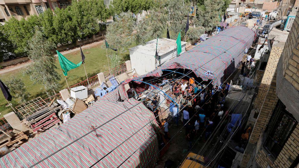 Mercadillo en Bagdad, ataque suicida