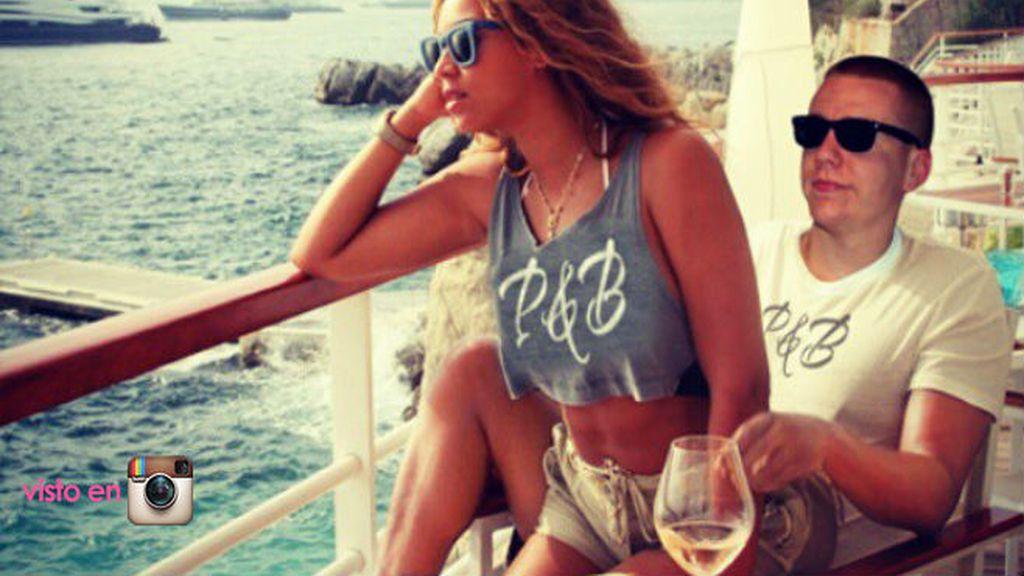 """Idílicas vacaciones en el mar de Beyoncé y su """"amante"""" secreto"""