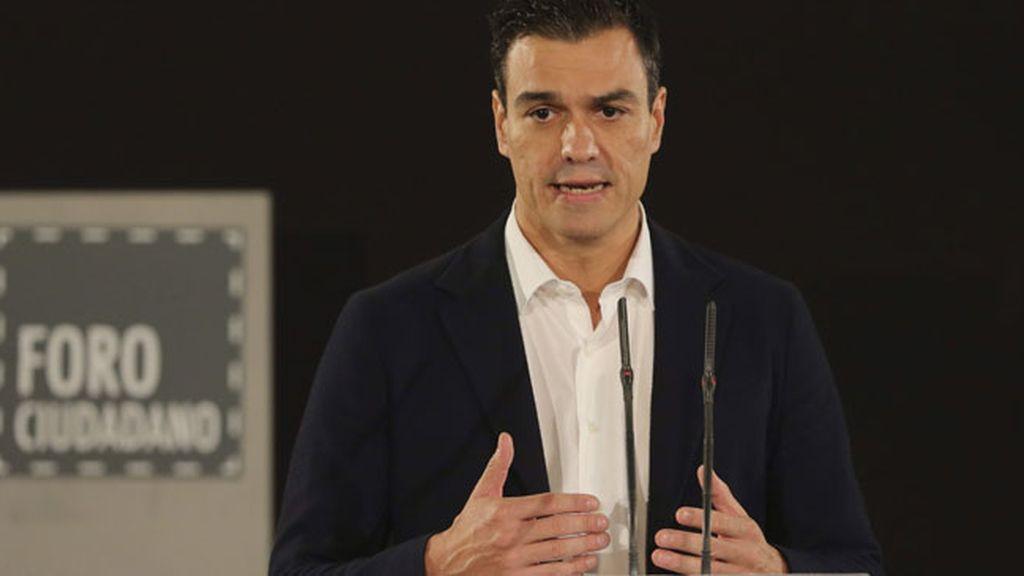 Pedro Sánchez en el Foro Ciudadano sobre 'Limpieza y Calidad Democrática'