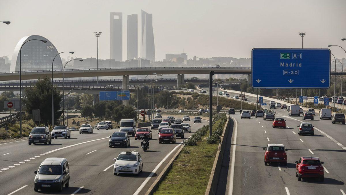 Madrid, con contaminación