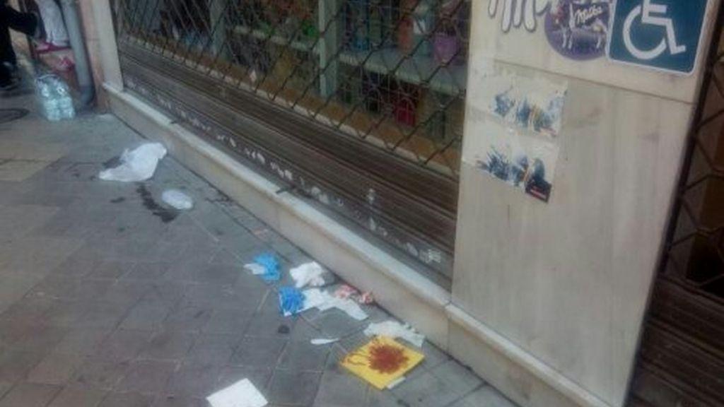 El hombre ha muerto cuando intentaba atracar la tienda de alimentación