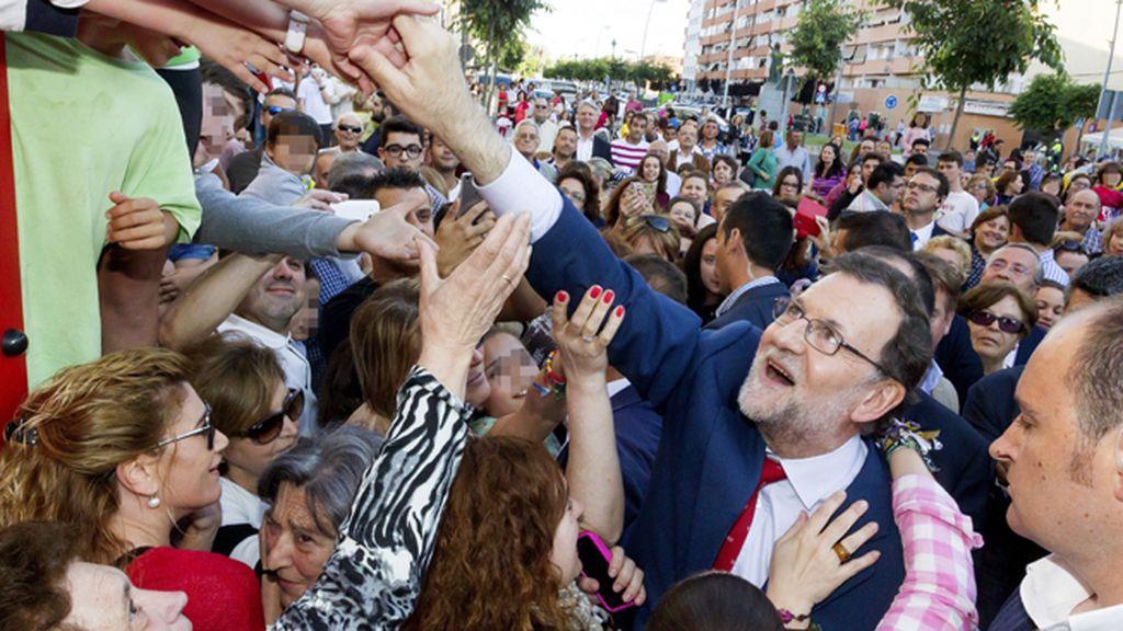 Rajoy visita Almendralejo, Badajoz
