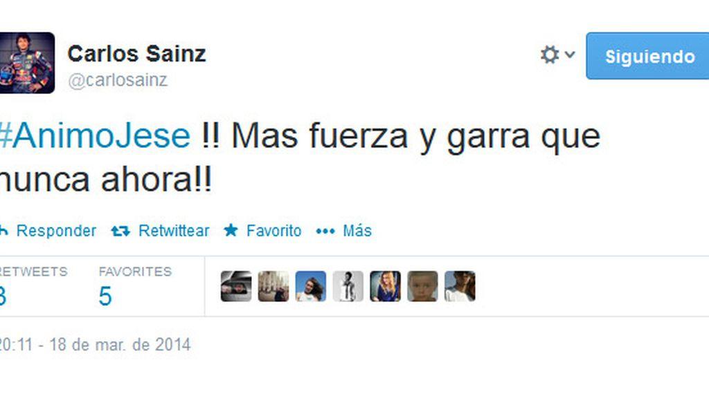 Carlos Sainz Twitter