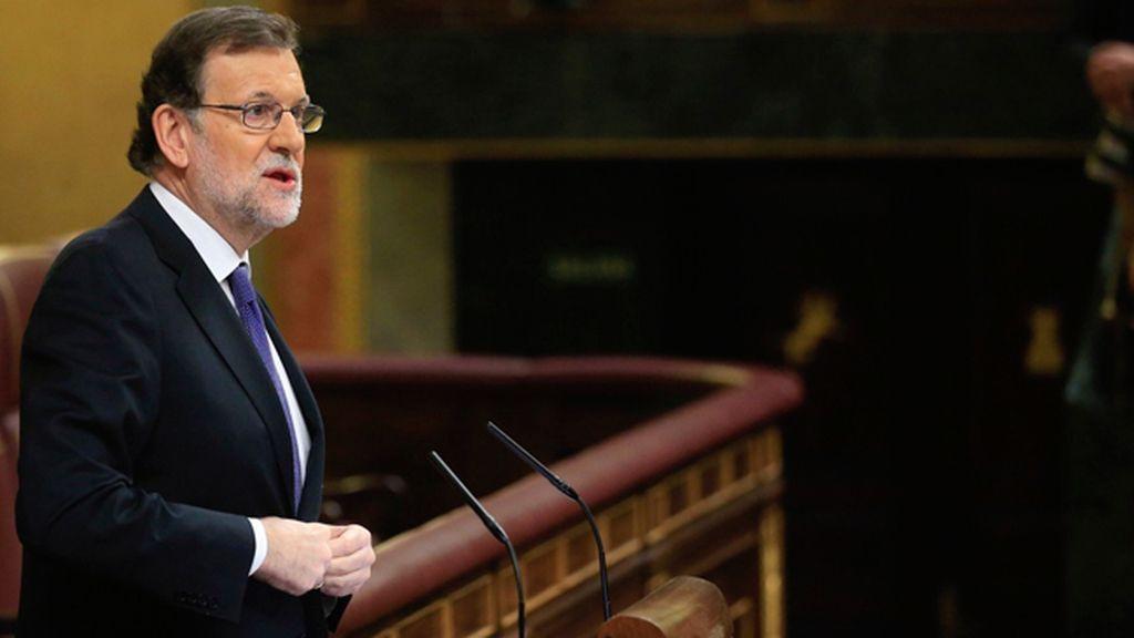 Mariano Rajoy en en Congreso de los Diputados