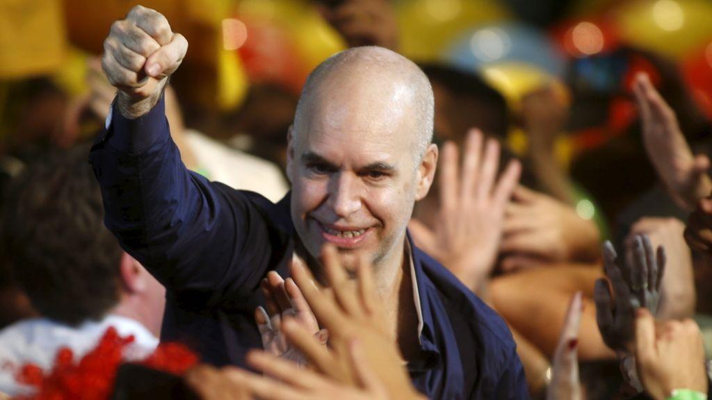 Larreta se hace con la victoria y será el jefe de gobierno de Buenos Aires