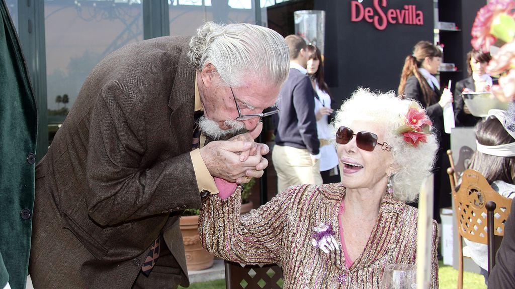 La duquesa de Alba y Leandro de Borbón eran buenos amigos