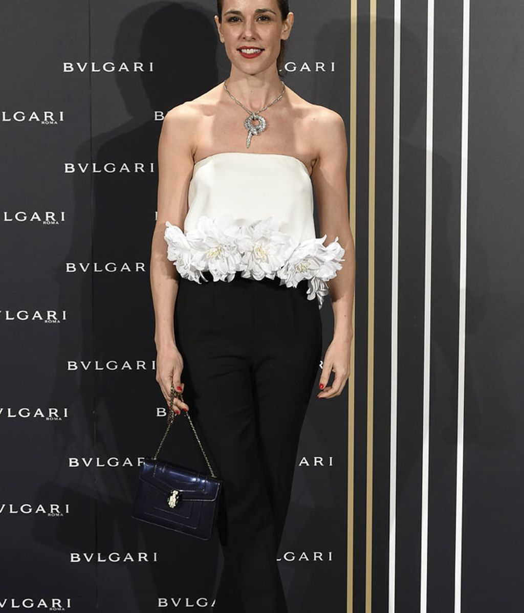 Raquel Sánchez Silva y su estilismo en 'black and white'