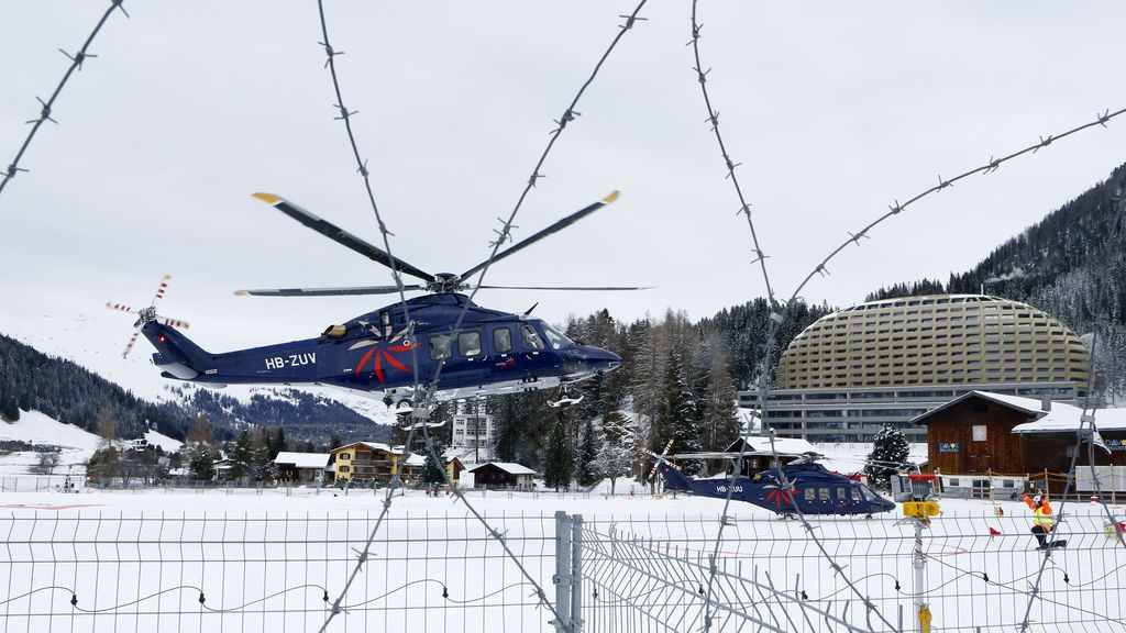 El Foro de Davos inicia su reunión anual con los riesgos geopolíticos en el centro del debate