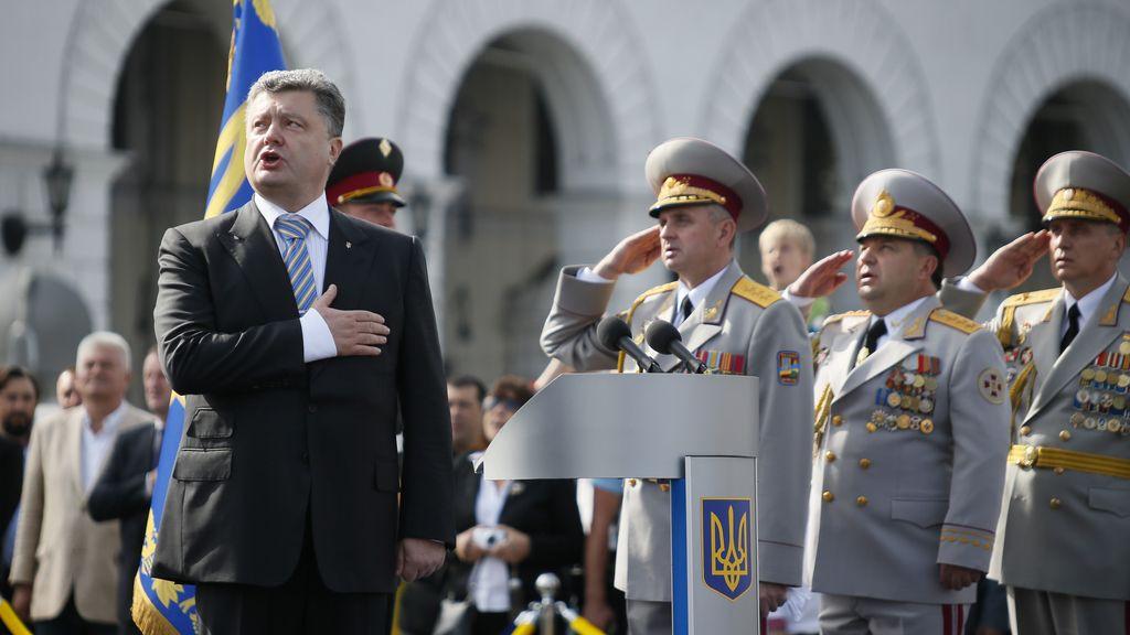 Ucrania celebra hoy el día de su independencia en medio de una crisis histórica
