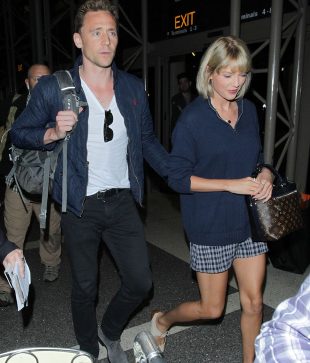 Taylor Swift y Tom Hiddleton lo dejan