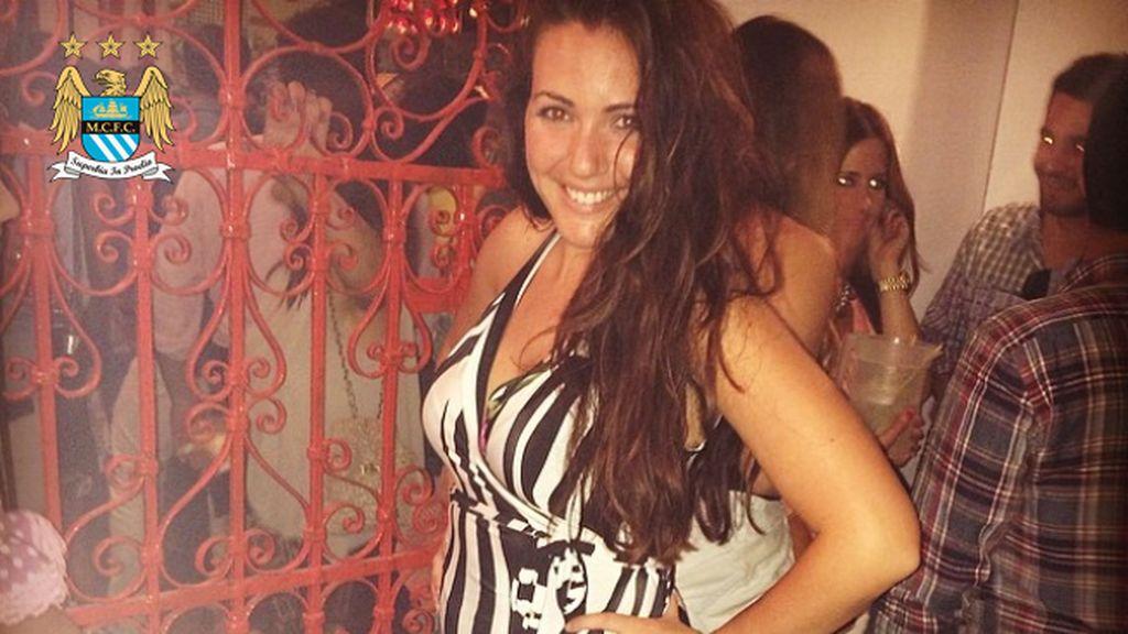 Laura Darea, pareja de Nolito (City)