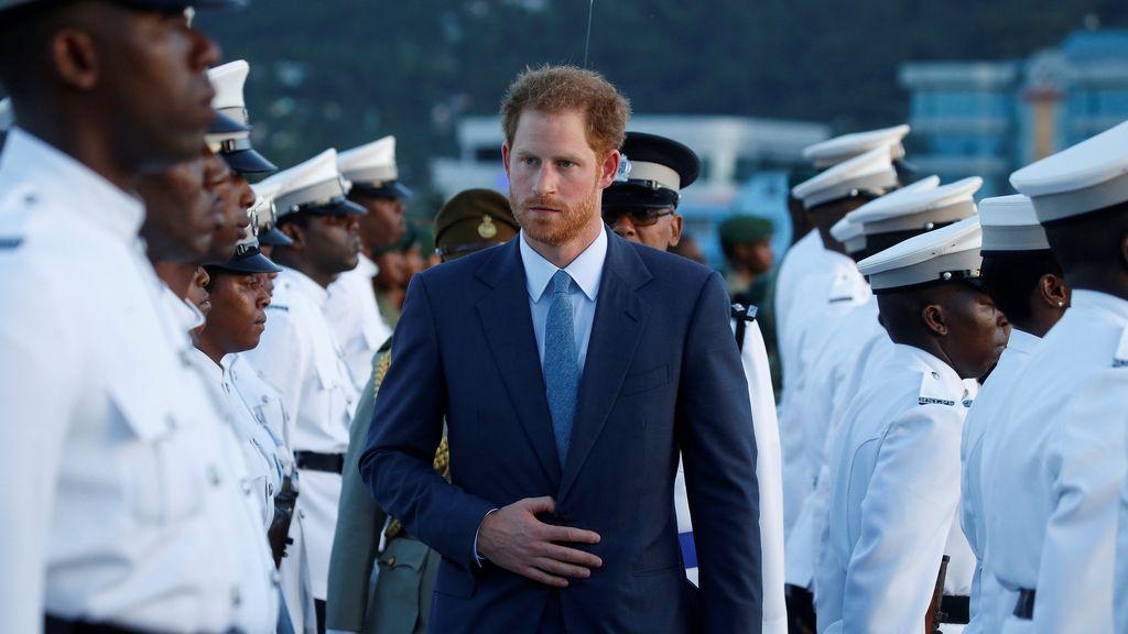 El príncipe Harry, recibido con todos los honores en Santa Lucía