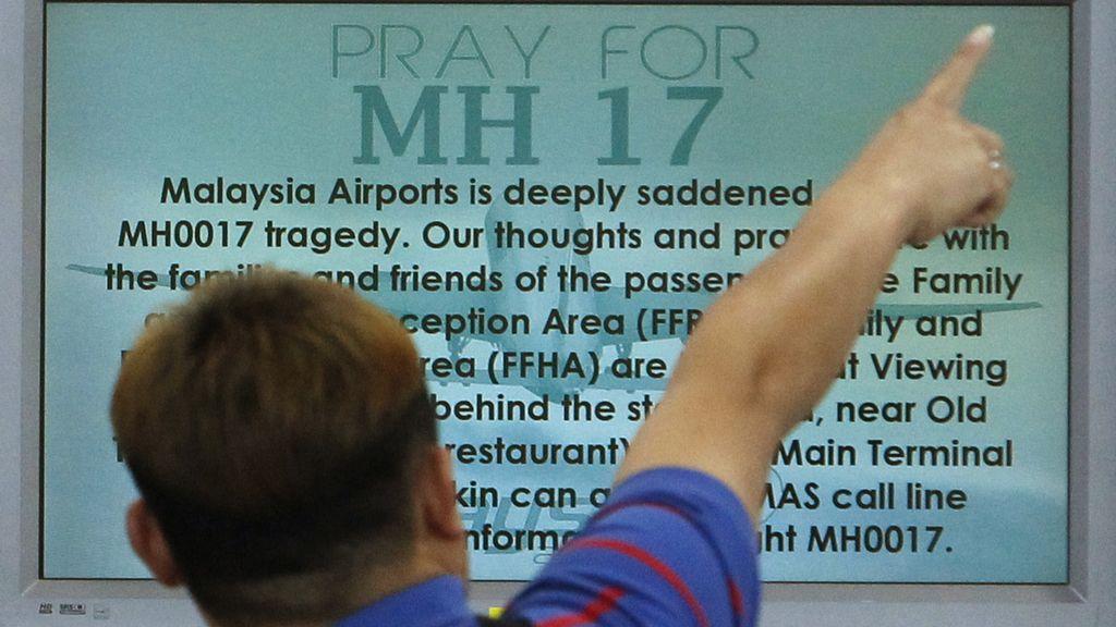 El anuncio de la tragedia en el aeropuerto de Kuala Lumpur