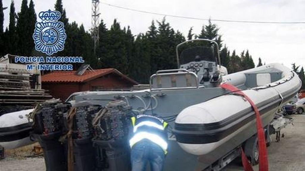 Detenidas 9 personas en Málaga por ejercer soporte logístico para el tráfico de hachís
