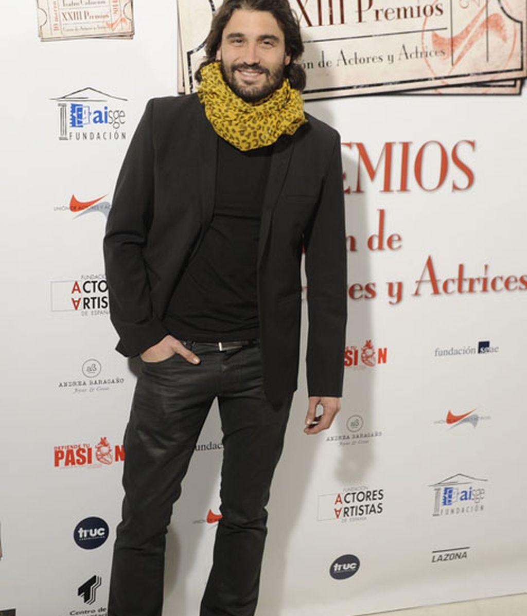 Álex García , el actor de 'Tierra de Lobos'