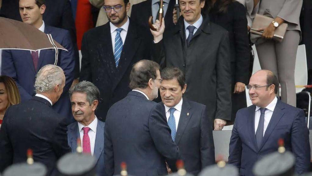 Un 12 de octubre con gobierno en funciones y sin líder de la oposición