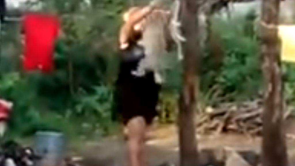 Perro ahorcado en México