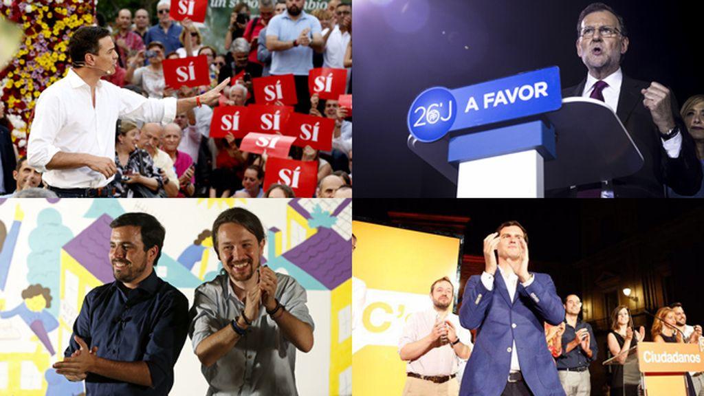 Los partidos se lanzan a la campaña electoral… otra vez
