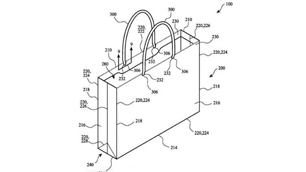 bolsa Apple, Apple patente, Apple