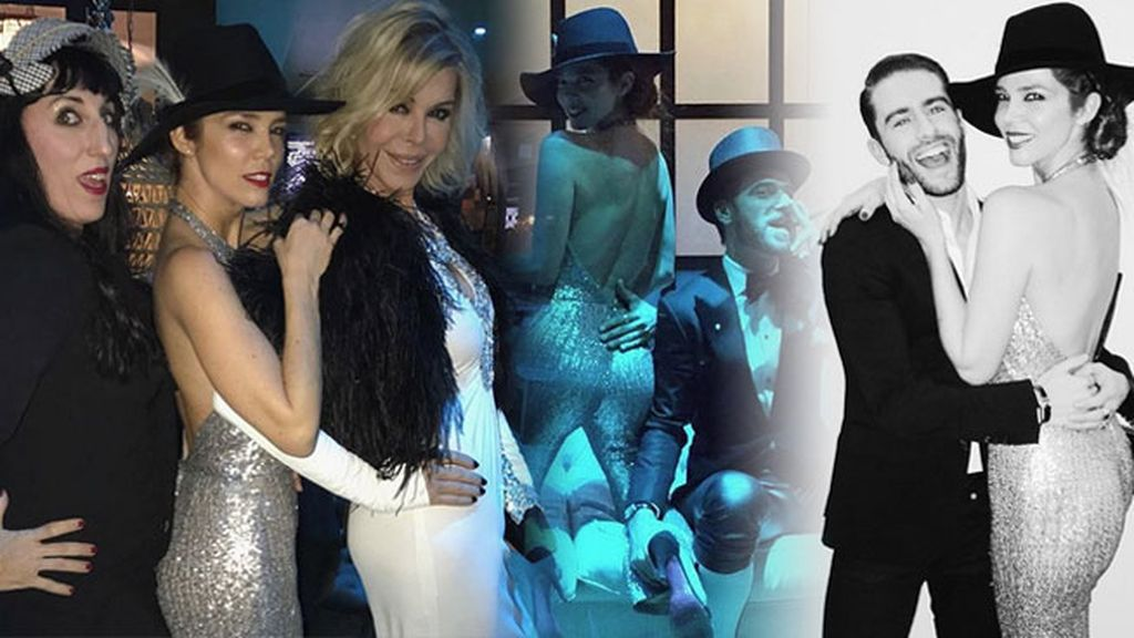Las celebridades patrias se dieron cita en la noche madrileña para festejarlo
