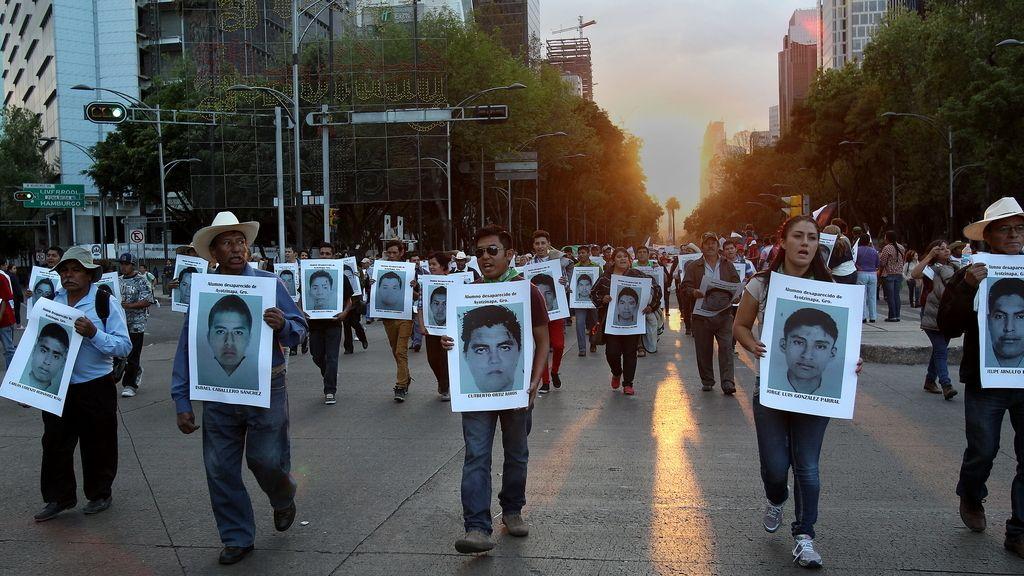 Identificados los restos de uno de los estudiantes desaparecidos en México