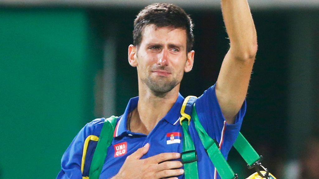 El tenista serbio Novak Djokovic se despidió en su estreno olímpico de Río de Janeiro