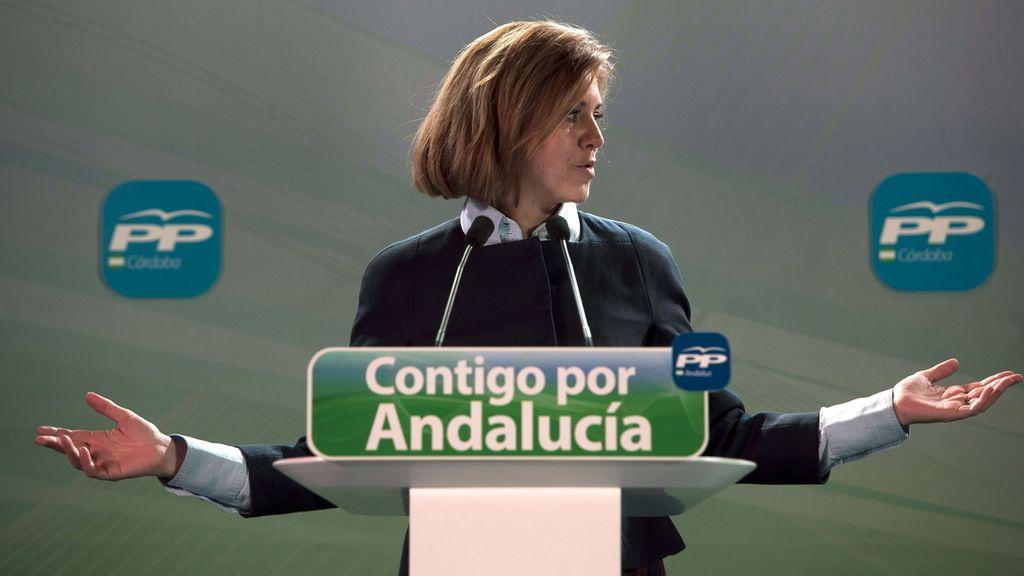 María Dolores de Cospedal, secretaria general del PP