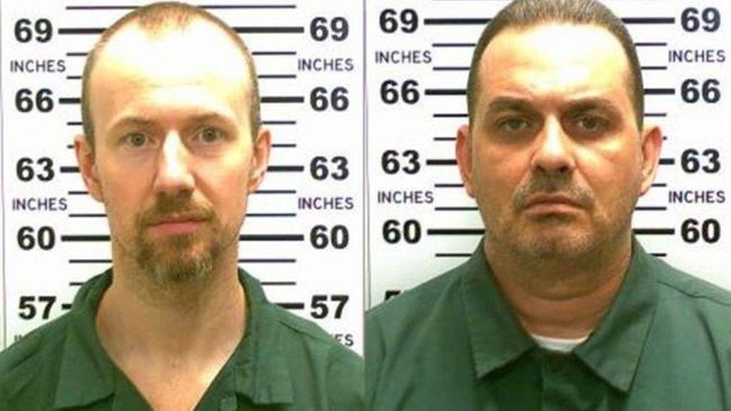 Hallan ADN de los dos presos fugados de una cárcel de Nueva York