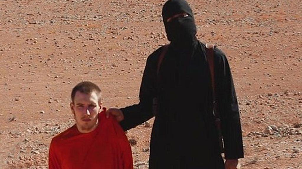 Peter Kassig amenazado en un vídeo