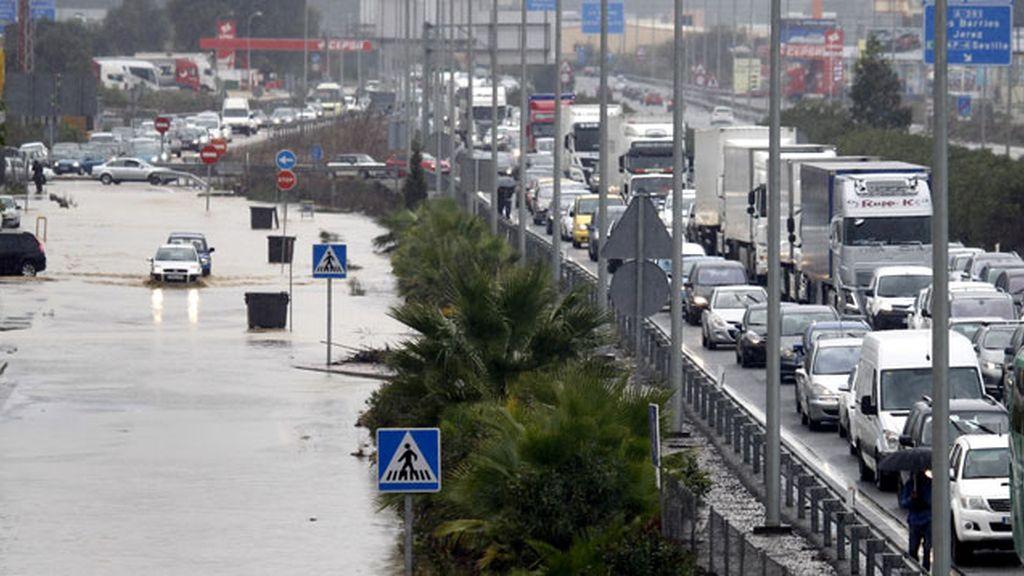 Inundaciones en Cádiz