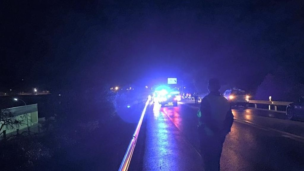 Muere un guardia civil arrollado por un coche en un control de tráfico en Huesca