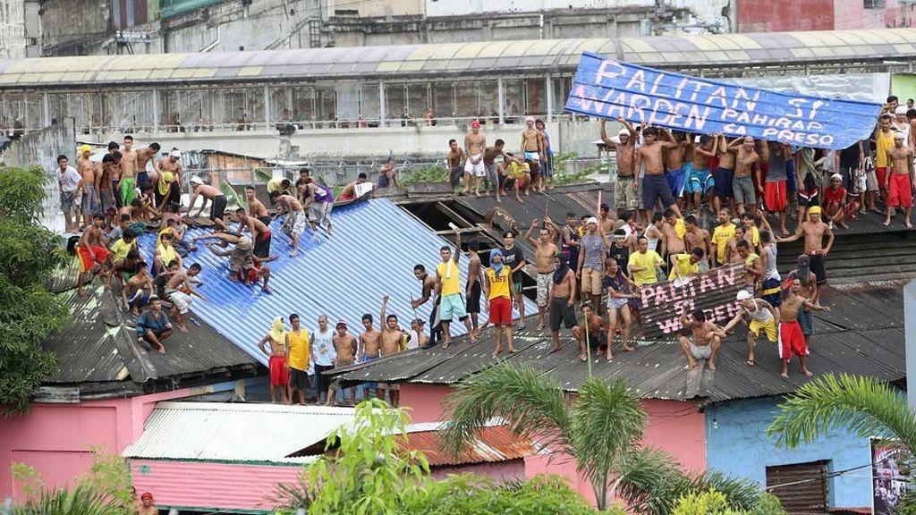 Motín en una cárcel de Filipinas