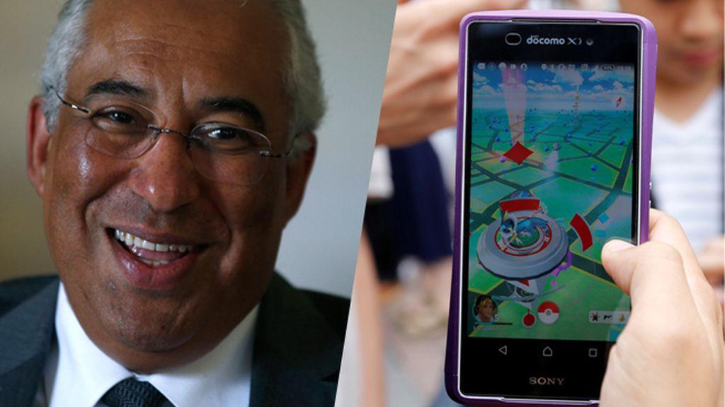 """El primer ministro de Portugal manda a """"cazar Pokémon"""" a los que hablan de rescate"""