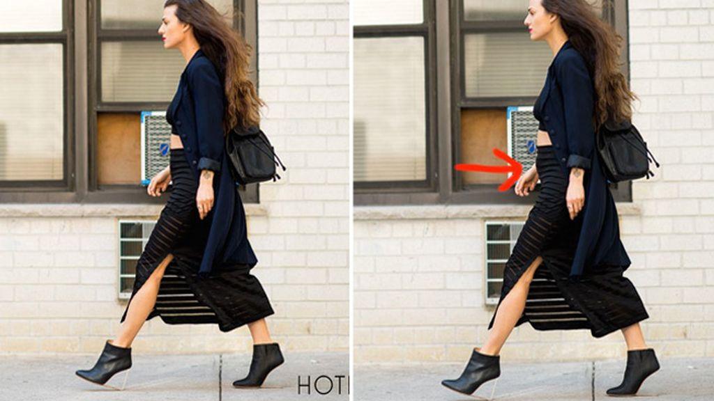 Una famosa bloguera de moda confiesa a sus seguidores que retocó sus imágenes con Photoshop