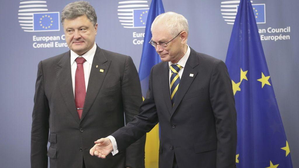 Bruselas reunión cargos y Ucrania. Foto: EFE