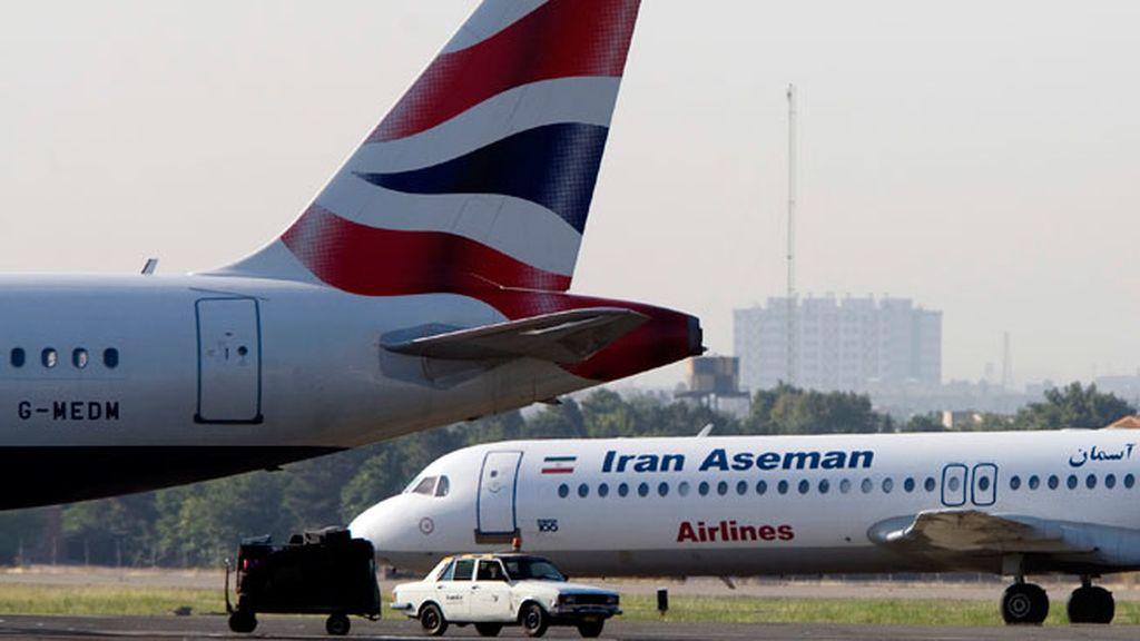 La 'lista negra' de aerolíneas vetadas en la UE incluye a Iran Aseman