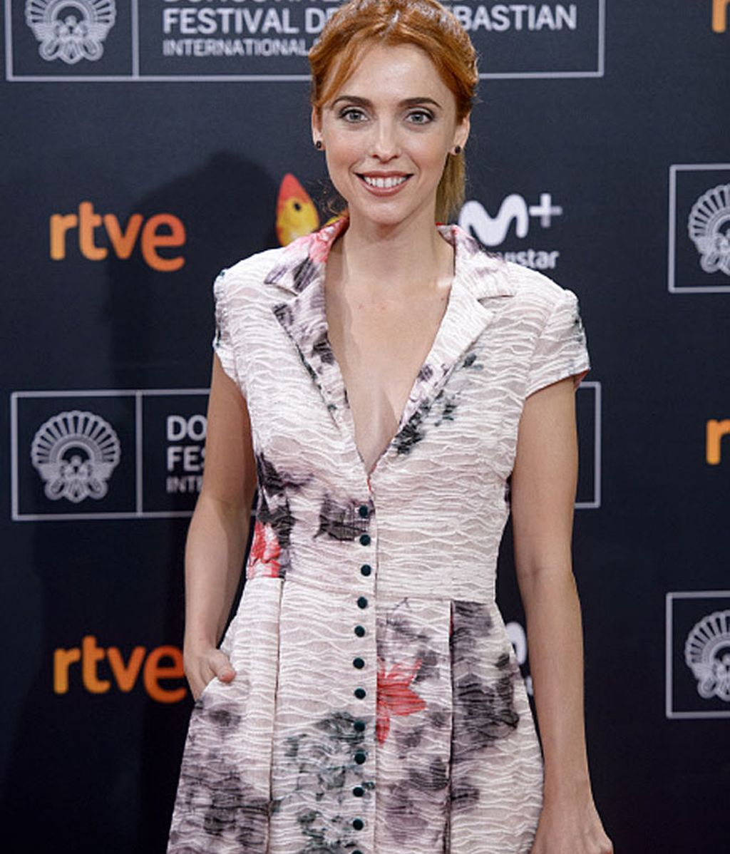 La actriz Leticia Dolera presente en la gala