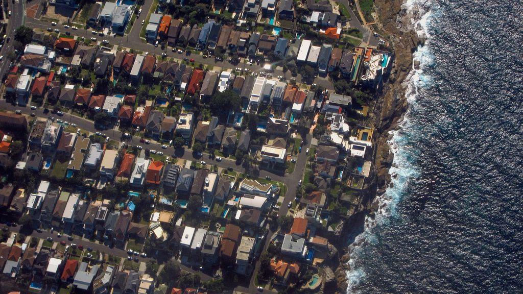 En Sídney, las casas conviven con el mar
