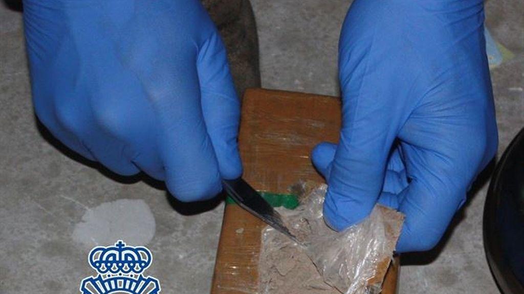 Más de 11 kilos de heroína procedente de Holanda incautados