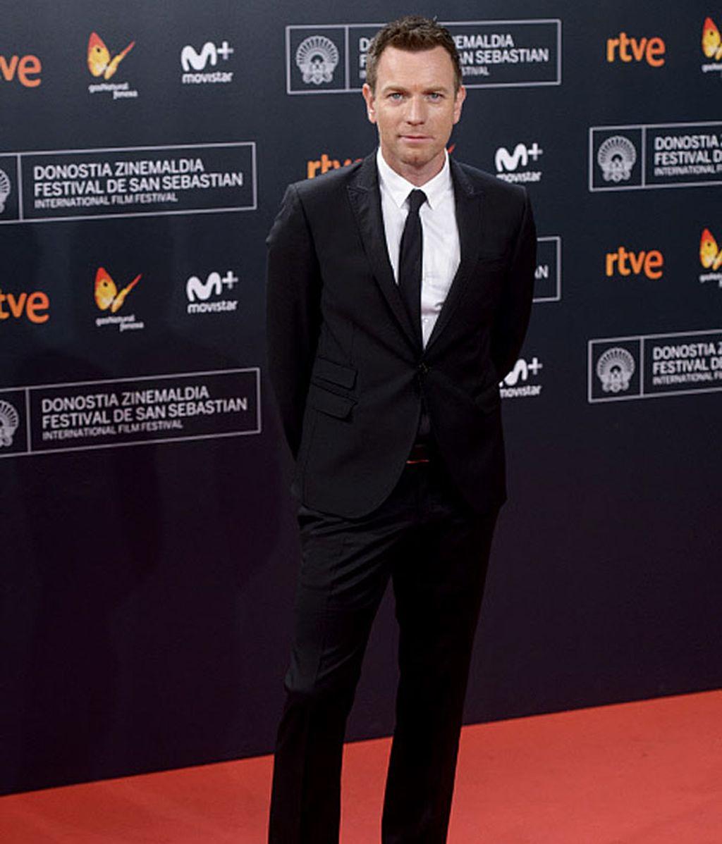 El atractivo actor británico, Ewan McGregor, en la gran gala