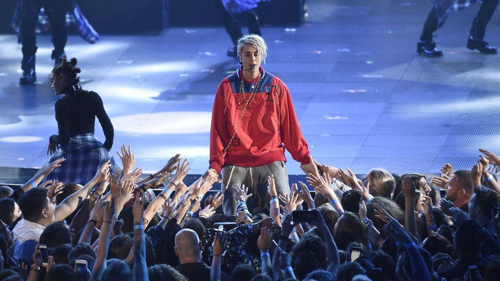 Justin Bieber en los IHearRadio Music Awards