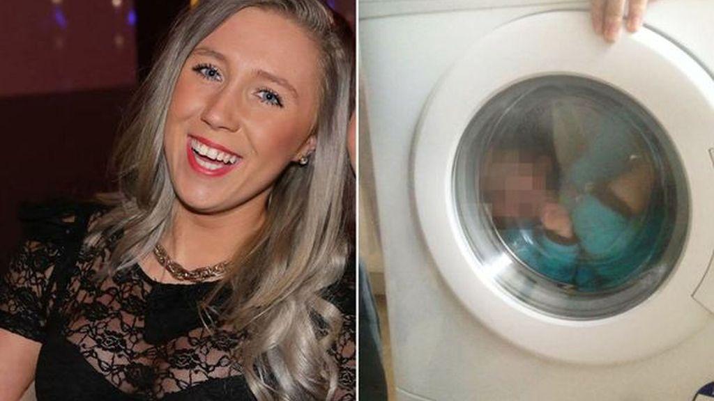 Denuncian a una madre por fotografiar a su hijo con síndrome de Down dentro de una lavadora