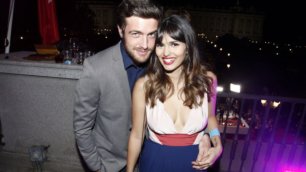 Una pareja de infarto: Raúl Mérida y Sara Sálamo